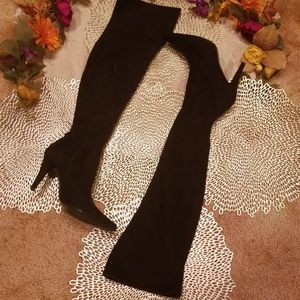 💼Lord & Taylor Over The Knee Suede Boots